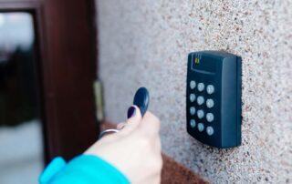 Access control panel
