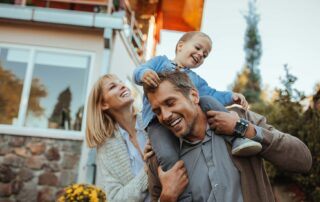 Secure happy family